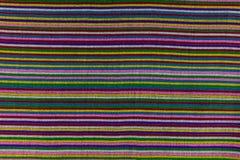 Lokale patroonontwerp gemaakte stof en zijde het Noord- van Thailand Stock Afbeeldingen