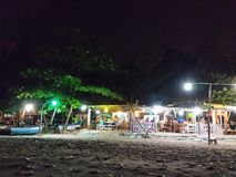 Lokale Rayong-Meeresfrüchte Stockfotos