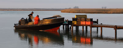Lokale visser Stock Afbeelding