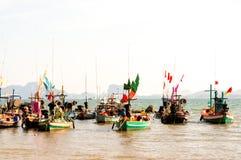 Lokale vissersboot Royalty-vrije Stock Foto