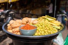 Lokalen bär frukt i marinad Arkivfoto
