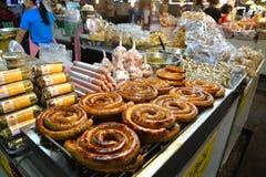 Lokaler Frischmarkt, Chiang Mai, Thailand Stockbild