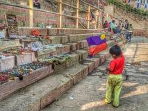 Lokaler indischer Shop Lizenzfreie Stockbilder