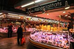Lokaler Markt in Barcelona, Spanien Stockbilder