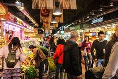 lokaler Markt in Europa Lizenzfreies Stockbild