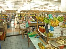 Lokaler Markt in Kota Kinabalu Stockfotografie