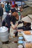 Lokaler vietnamesischer Markt Stockfotos