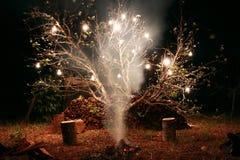 Lokales Feuer Lizenzfreie Stockbilder