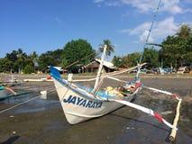 Lokales indonesisches Fischerboot, Bali, Indonesien Lizenzfreies Stockfoto