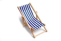 lokaliserad semesterortsjösida för strand stol Royaltyfria Bilder