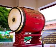 Thailändska gammala utformar trummar Royaltyfria Foton