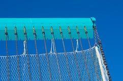 Lokalisiert auf blauem Hintergrund Lizenzfreie Stockfotografie