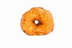 Lokalisiert ringsum Donut Lizenzfreie Stockbilder