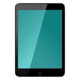 Lokalisierte elektronische Tablet-Gerät-Vektor-Illustration Lizenzfreie Stockfotos