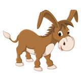 Lokalisierte Esel-Vektor-Illustration lizenzfreie abbildung
