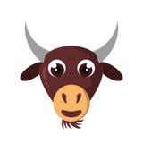 Lokalisierte Ikone der Farm der Tiere des Mantels Lizenzfreie Stockfotos