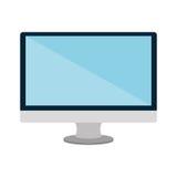 Lokalisierte Ikone der Technologie elektronisches Gerät Stockfoto