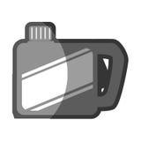Lokalisierte Ikone des Brennstoffs Gallone vektor abbildung