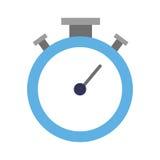 lokalisierte Ikone des Chronometers Timer Lizenzfreie Stockbilder
