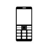 Lokalisierte Ikone Smartphones Gerät Stockfoto