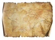 Lokalisierte Illustration 3d der Karte der Alten Welt vektor abbildung