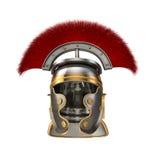 Lokalisierte Illustration 3d von Roman Helmet Lizenzfreies Stockbild
