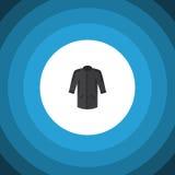 Lokalisierte Kimono-flache Ikone Einheitliches Vektor-Element kann für Kimono, Uniform, Kleidungs-Konzept des Entwurfes benutzt w Lizenzfreie Stockfotos