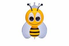 Lokalisierte Kinderhandgemachte Biene auf dem Weiß Stockfoto