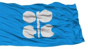 Lokalisierte OPEC-Flagge Lizenzfreie Stockbilder