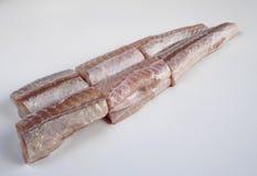 Lokalisierte rohe kleine Haie Stockbild