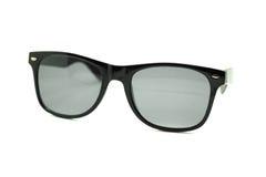 Lokalisierte Sonnenbrillen auf einem Weiß Stockbild