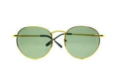 Lokalisierte Sonnenbrillen auf einem Weiß Stockbilder