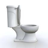 Lokalisierte Toilette Lizenzfreie Stockfotos