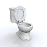 Lokalisierte Toilette Stockbilder