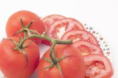 Lokalisierte Tomaten Stockfoto