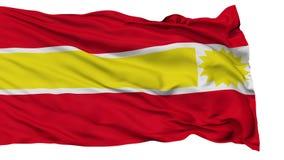 Lokalisierte Topaipi-Stadtflagge, Kolumbien stock video footage