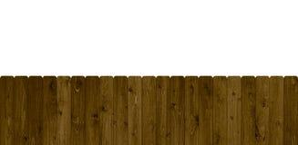Lokalisierter brauner Zaun Stockbilder