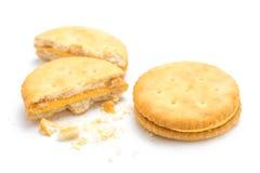 Lokalisierter Cracker Stockbild