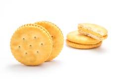 Lokalisierter Cracker Stockfoto