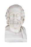 Lokalisierter Fehlschlag von Euripides, starb in 406 vor Chr Skulptur I Lizenzfreies Stockfoto