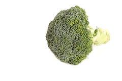 Lokalisierter frischer Brokkoli auf weißem Hintergrund Lizenzfreies Stockbild