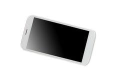 Lokalisierter glänzender Smartphone Stockfoto