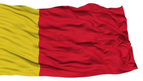 Lokalisierter Moroni City Flag lizenzfreie abbildung