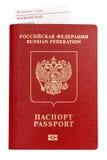 Lokalisierter Pass mit Bordkarte Lizenzfreies Stockbild