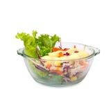 Lokalisierter Salat Stockfotografie