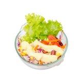 Lokalisierter Salat Stockfotos