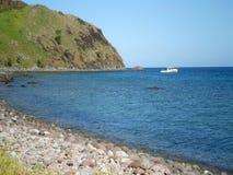 Lokalisierter Strand Lizenzfreies Stockfoto