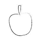 Lokalisiertes Apfeldesign Lizenzfreies Stockfoto
