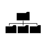 Lokalisiertes Dateidesign Lizenzfreie Stockfotos