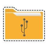 Lokalisiertes Dateidesign Stockbilder